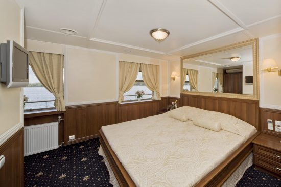 MS Volga Dream - Deluxe Stateroom