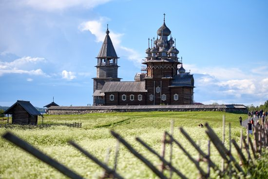 Church of the Transfiguration - Kizhi Island