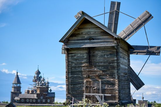 Museum of Wooden Architecure - Kizhi Island