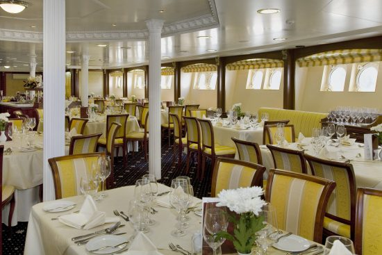 MS Volga Dream - Restaurant