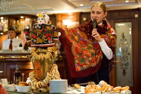 MS Volga Dream - Russian Tea Ceremony