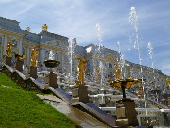 Peterhof Palace, Grand Cascade - St Petersburg
