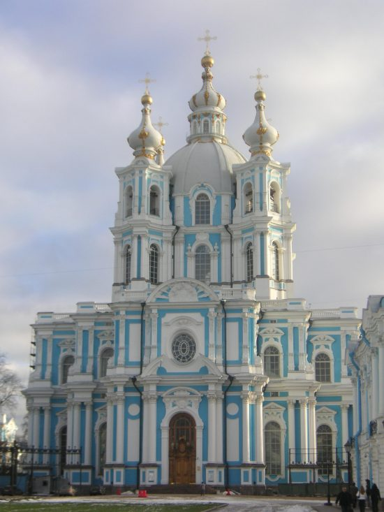 Smolny Cathedral - St. Petersburg