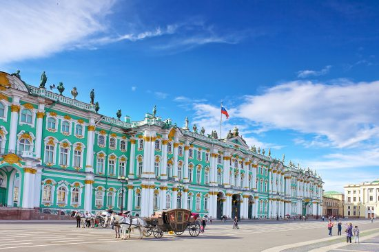 Winter Palace (Hermitage Museum) - St. Petersburg
