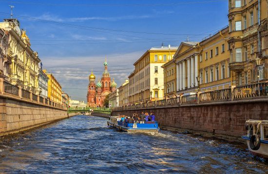Canal Cruise - St. Petersburg