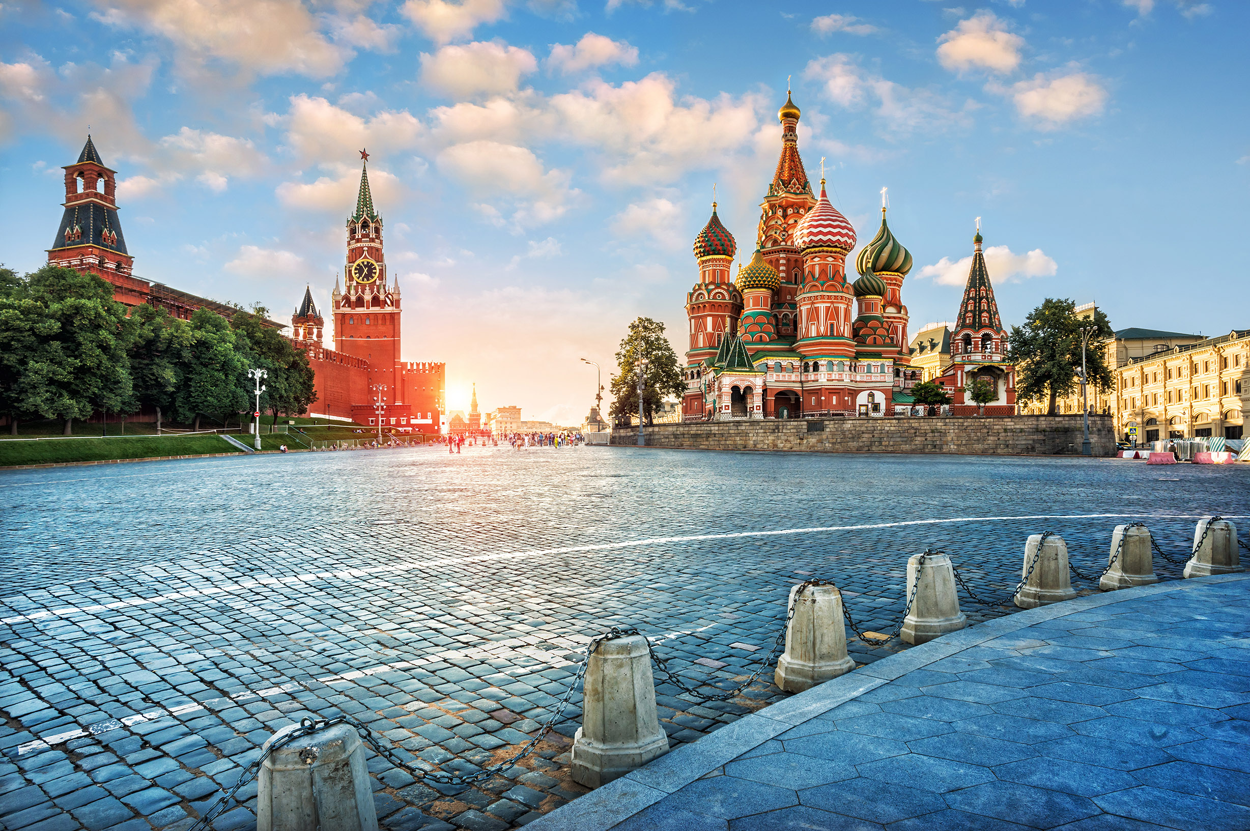 Moscow Dawn Cruise Russia